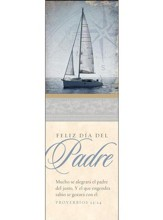 Feliz día del Padre 2018 (Proverbios 23:24, RVR 1960) Marcadores, 25 (Happy Father's Day 2018 Bookmarks, 25)