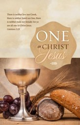 One in Christ Jesus (Galatians 3:28, KJV) Bulletins, 100