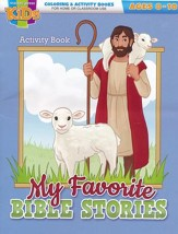 My Favorite Bible Stories Activity Book (ages 8-10)
