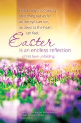 An Endless Reflection (Philippians 4:20, KJV) Bulletins, 100