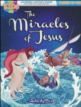 The Miracles of Jesus Activity Book (ages 8-10)