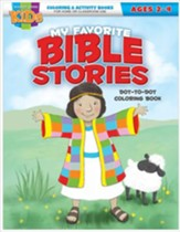Favorite Bible Stories Dot-to-Dot Activity Book (ages 2-4)