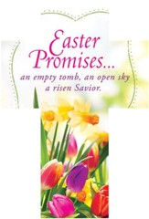 Easter Promises (2 Corinthians 9:15, NIV) Cross-Shaped Bookmarks, 25