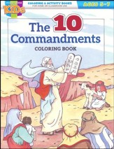 The Ten Commandments Coloring and Activity Book (ages 5-7)