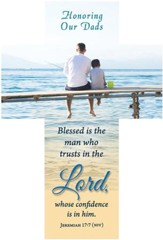 Blessed Is The Man (Jeremiah 17:7, NIV) Bookmarks, 25