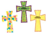 Splash Canyon: God's Promise Cross Craft, pkg of 12