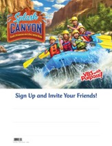 Splash Canyon: Big Splash Publicity Poster