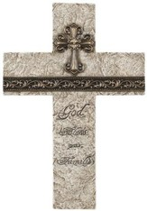 God Bless Our Family Wall Cross
