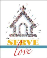 Serve One Another (Galatians 5:13, NIV) Large Bulletins, 100
