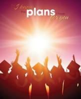 Graduates Sunset (Jeremiah 29:11, NIV) Large Bulletins, 100