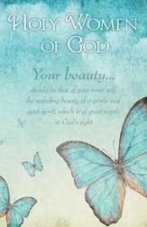 Unfading Beauty (1 Peter 3:4, NIV) Bulletins, 100