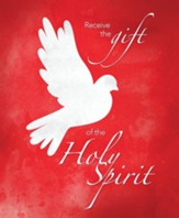 Receive the Gift of the Holy Spirit (Acts 2:38, NIV) Large Bulletins, 100