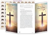 I Am the Resurrection (John 11:25) Easter Coin Offering Folders, Pack of 50