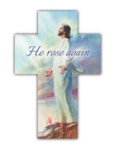 He Rose Again (1 Corinthians 15:2) Cross Bookmarks, 25