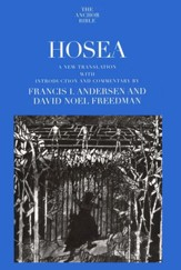 Hosea: Anchor Yale Bible Commentary [AYBC]