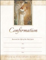 Christ at Heart's Door (Psalm 86:11) Certificates, 25