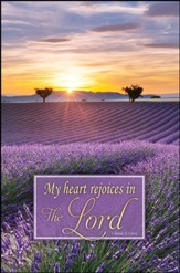My Heart Rejoices (1 Samuel 2:1, NIV) Bulletins, 100