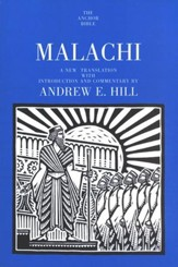 Malachi: Anchor Yale Bible Commentary [AYBC]