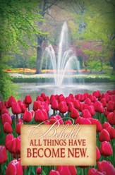 All Things Are New (2 Corinthians 5:17, NKJV) Bulletins, 100