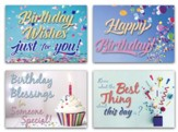 Let's Party (KJV) Box of 12 Birthday Cards