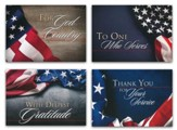 For Your Service (KJV) Box of 12 Thank You Cards