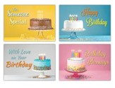 You Take the Cake! (NIV) Box of 12 Birthday Cards