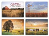 Peaceful Pastures (KJV) Box of 12 All Occasion Cards