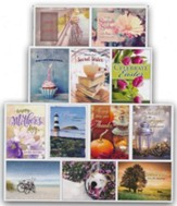 Secret Sister (KJV/NIV) Box of 12 All Occasion Cards