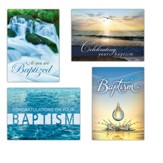 New Beginnings (KJV) Box of 12 Baptism Cards