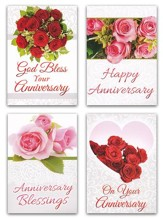On Your Anniversary (KJV) Box of 12 Anniversary Cards