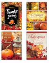 A Harvest of Thanks (KJV) Box of 12 Thanksgiving Cards