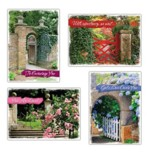 Garden Gates (NIV) Box of 12 Encouragement Cards