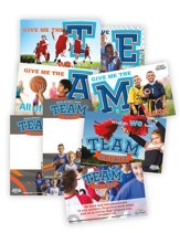 MEGA Sports Camp TEAM Spirit: Poster Pack