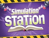 Time Lab: Simulation Station Bible Lesson Rotation Sign
