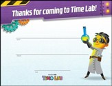 Time Lab: Visitor Certificates (pkg. of 10)