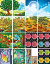 Time Lab: Junior and Primary Illustration Posters (pkg. of 16)
