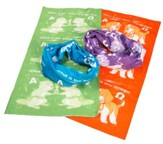 Time Lab: Orange Tubular Bandanas (pkg. of 10)