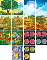 Time Lab: Pre-Primary and Toddler Illustration Posters (pkg. of 14)