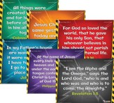 Time Lab: Junior and Primary Memory Verse Posters (pkg. of 6)