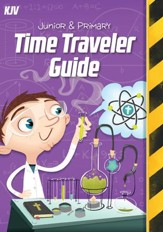 Time Lab: KJV Junior and Primary Time Traveler Guide and Sticker Set (pkg. of 10)