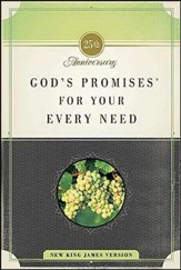 God's Promises for Your Every Need, NKJV: 25th Anniversary Edition (slightly imperfect)