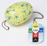 Gospel Easter Egg with Dog Tag Pendant