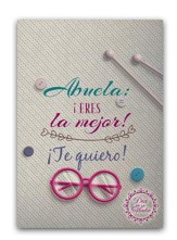 Dia de la Madre - Abuela Tarjeta (Mother's Day Card for Grandmother)