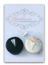 Bendiciones en Vuestro Matrimonio Tarjeta (Blessings on your Wedding Day Card)
