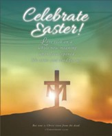 Celebrate Easter! (1 Corinthians 15:20, KJV) Large Bulletins, 100