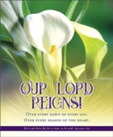 Our Lord Reigns! (Matthew 28:6, KJV) Large Bulletins, 100