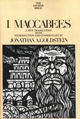 1 Maccabees: Anchor Yale Bible Commentary [AYBC]