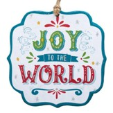 Joy to the World, Die-Cut Ornament