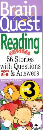 Brain Quest Grade 3 Reading, Revised  2nd Edition