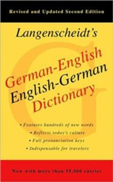Langenscheidt's German-English, English-German Dictionary, Second Edition